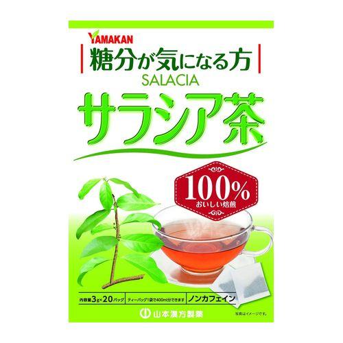 最安値 爆売り 山本漢方製薬 サラシア茶100% 20包