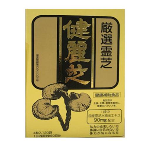 【送料無料/代引き無料】健麗芝(ケンレイシ)お徳用タイプ 480粒(4粒x120袋入)[けんれいし][霊芝][健康食品][キノコ食品]