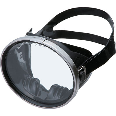 GULL (gal) Pro Series (the professional series) abyss black silicon mask fs3gm