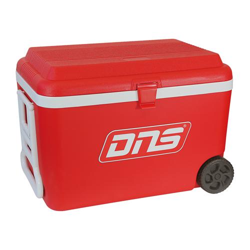 【送料無料/代引き無料】DNS(ディーエヌエス) クーラーボックス(容量:60L キャスター付き)