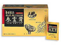 全薬工業 養生食品「参霊茸(さんれいじ)」90包入