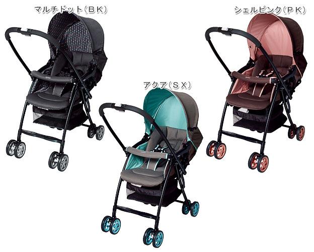 从,啊,普里卡Aprica karun Karoon A型婴儿车两会见式1个月起