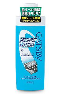 25%OFF 滑り良く 素早く剃れて 剃り残しをなくす GATSBY ギャツビー 140ml メンズ プレシェーブローション スキンケア 未使用品 男性用