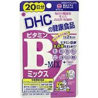 【ゆうパケット配送対象】DHC ビタミンBミックス 20日分 (サプリメント サプリ)(ポスト投函 追跡ありメール便)