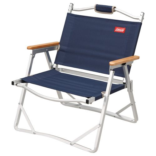 Until 8/10 1:59 ▽ Coleman (Coleman) Compact Folding Chair (navy) 170 7669 (chair  Chair Chair)