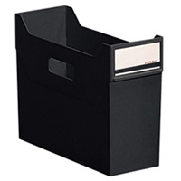 LIHITLAB/スタック/ボックス/リクエスト/G1600/ファイル/リヒトラブ/書類整理/ファイリング/小物 LIHITLAB リヒトラブ リクエストスタックボックス黒 G1600-24
