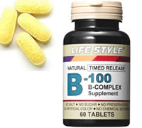 ▼P up to 36 times & coupon festival! Containing 60 ▼ LIFE STYLE (lifestyle) vitamins B-100 inferiority complexes until 8/10 1:59 [tablet]; [エープライム] [supplement] [B group] [0715124023209]