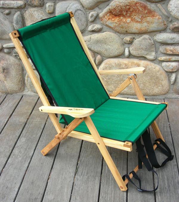 Blue Ridge Chair Works(ブルーリッジチェアワークス)バックパックチェア フォレストグリーン [BPCH01WF]【MK】(アウトドア キャンプ チェア 椅子 いす イス 折りたたみ 折り畳み キャンプ用品)