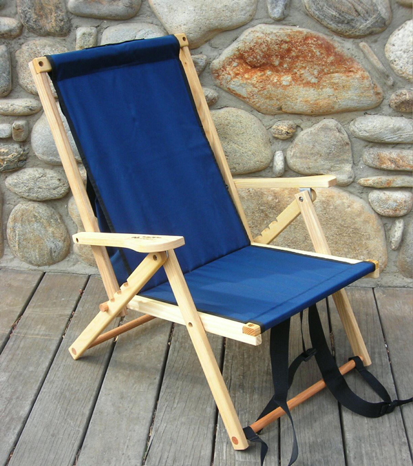 Until 8/10 1:59 ▽ Blue Ridge Chair Works (blue Ridge Chair Works) Backpack  Chair Navy [BPCH01WN] (outdoor Camp Chair Chair Chair Chair Folding Folding  ...