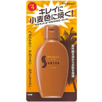 紫外線B波からお肌を保護 ●手数料無料!! メンターム サンベアーズ 紫外線対策グッズ サンタンローション 100mL 安い