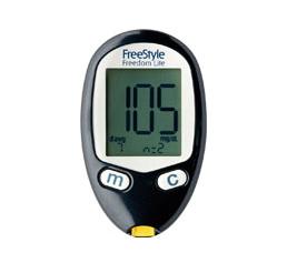 ニプロ フリースタイルフリーダムライト1台[血糖測定器本体](※電池セット済 取扱説明書)★ 血糖値測定器 血糖測定器