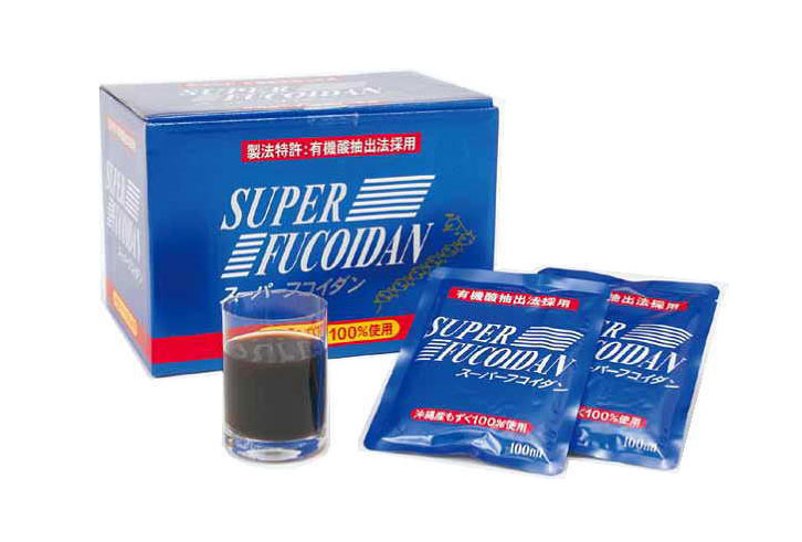スーパーフコイダン(100ml×30袋) 送料無料 もずく 液体タイプ 金秀バイオ正規品