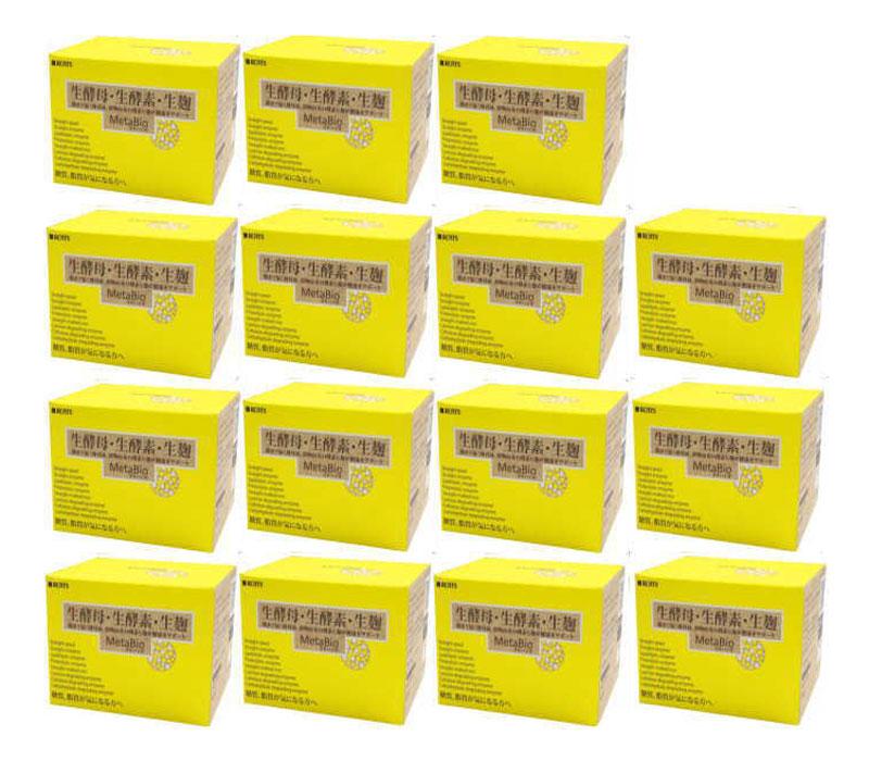 生酵母 生酵素 生麹 メタバイオ30包 (15箱セット) 送料無料 ロッツ正規品