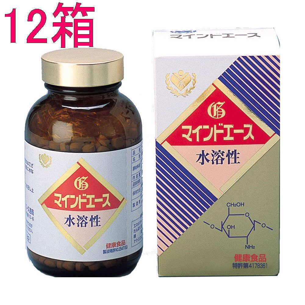 【送料無料】マインドエース徳用平状1000 (12箱セット) 水溶性キトサン キトサン食品工業正規品