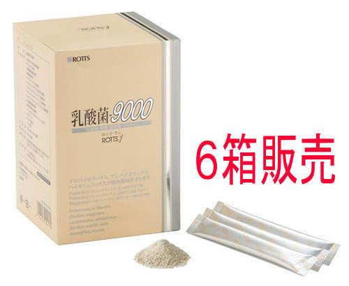 【送料無料】ROTTS-1乳酸菌9000(60包) (6箱セット) /ロッツ正規品