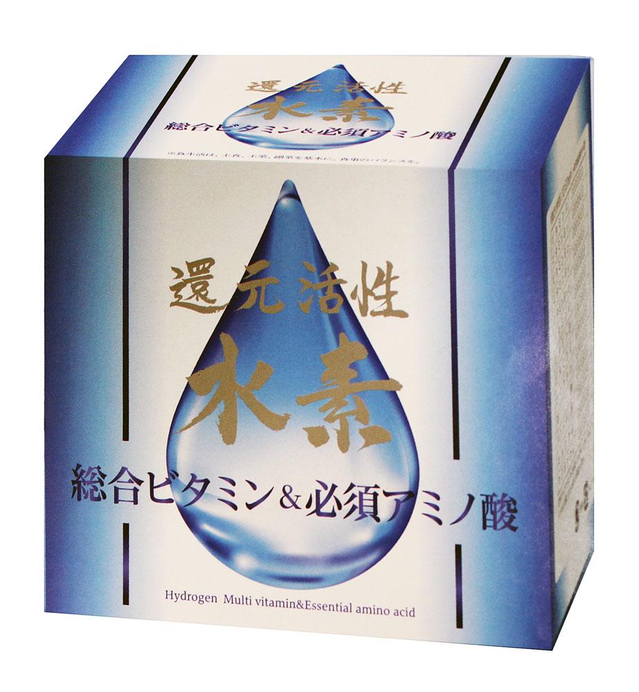 還元活性水素総合ビタミン&必須アミノ酸(1500mg×60包) 送料無料 /ロイヤルジャパン正規品