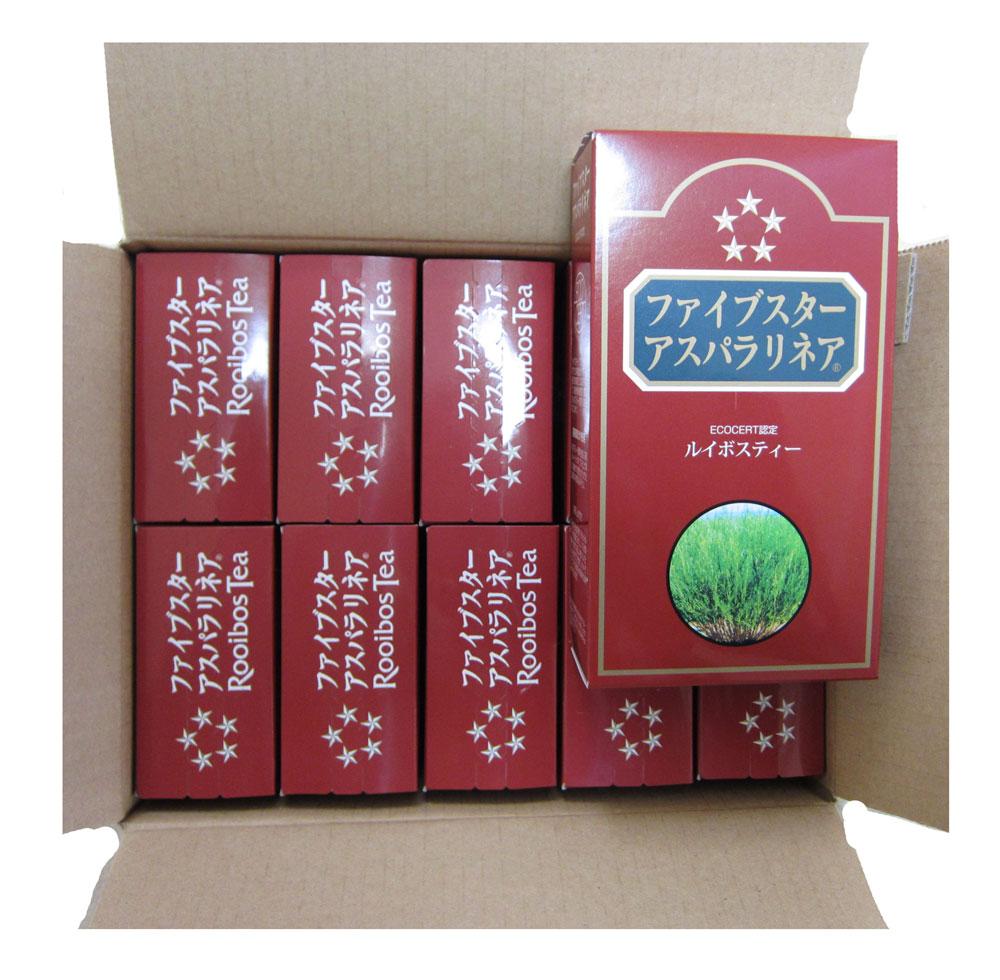 【送料無料】ルイボスティ30包 (10箱セット) ファイブスターアスパラリネア