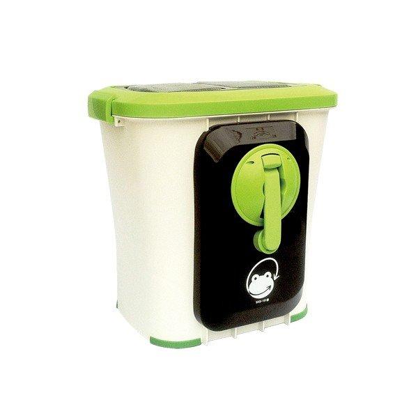 (クーポンつき)【自然にカエルS、基本セット(手動式)SKS-101型】補助金(助成金)対象生ゴミ処理機(電気を使わないホームエコサイクル 生ごみ処理機