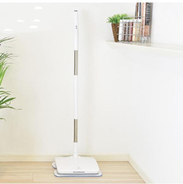 (クーポンつき)コードレス電動モップ 水スプレー機能付きリヴィーズ Livease床掃除 大掃除 雑巾がけ ワイパー 水拭き 電動ヘッド