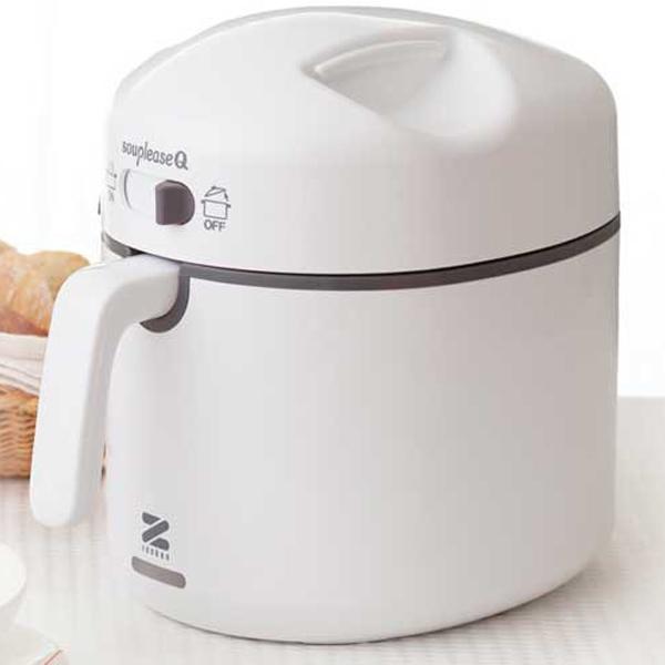 ゼンケン 【スープリーズQ】【写真入りレシピ集付き♪】操作&お手入れも簡単で時短に最適!スイッチ一つで栄養たっぷり本格スープ