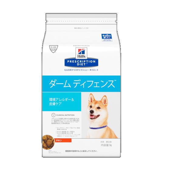 [療法食] Hills ヒルズ 犬用 ダームディフェンス チキン 7.5kg
