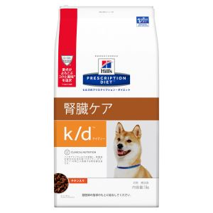 チキン [療法食] k/d ヒルズ 7.5kg 犬用 Hills