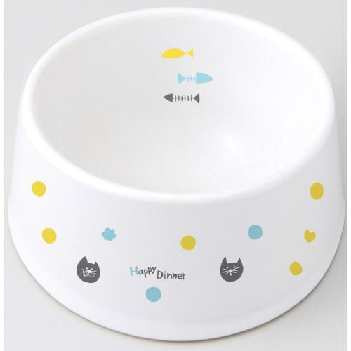 マルカン 食べやすい陶製食器 猫用 CT-415