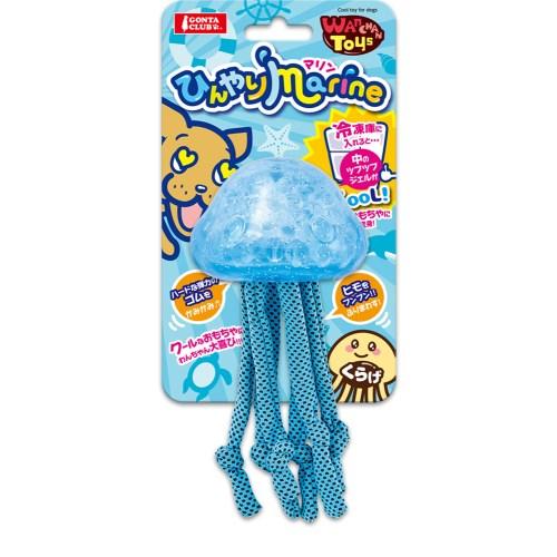 マルカン Wanchan Toys ひんやりマリン くらげ DP-308