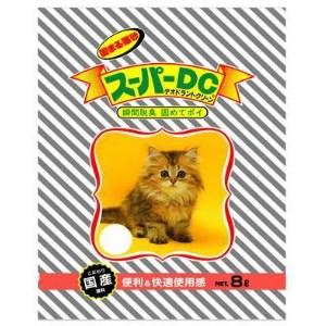 スーパーキャット NEW スーパーDC 8L 【猫砂】
