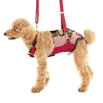 ◇トンボ 歩行補助ハーネスLaLaWalk(ララウォーク)小型犬・ダックス用 スクールガール S
