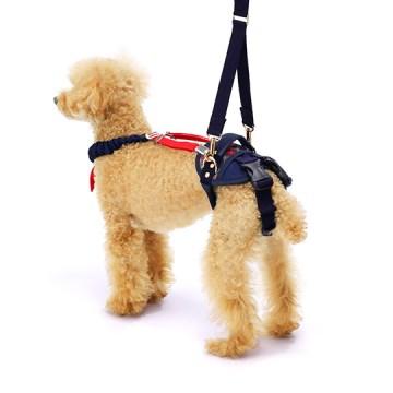 ◇トンボ 歩行補助ハーネスLaLaWalk(ララウォーク)ホールド小型犬用 チェックカーニバル