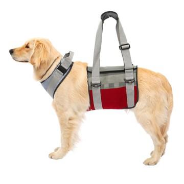 ◇トンボ 歩行補助ハーネスLaLaWalk(ララウォーク) 大型犬用 メッシュグレーワイン LL