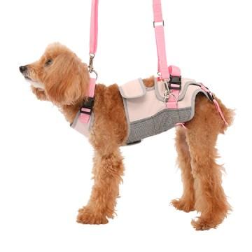 ◇トンボ 歩行補助ハーネスLaLaWalk(ララウォーク) 小型犬・ダックス用 スイートグレンチェック L
