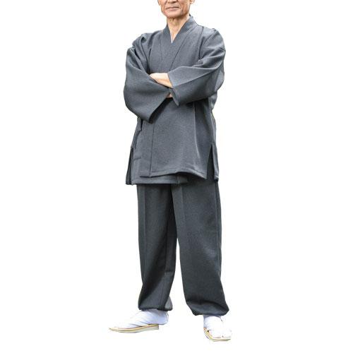 送料無料「秋冬 日本製 タクティウォーム作務衣(全2色) メンズ 和装 作務衣 紳士 シニア 和服 作業着 作業服 さむえ あったか作務衣」  sai p17295