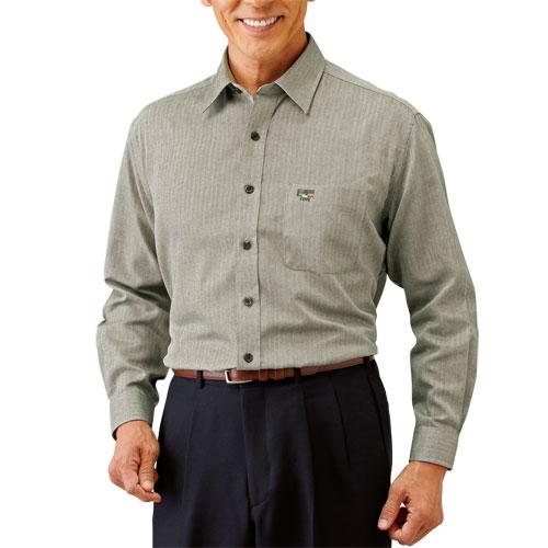 送料無料「パトリチオ フランチェスカ 大人の上質カジュアルシャツ(同サイズ3色組) トップス メンズ 紳士 シニア カジュアル ワインレッド グリーン ネイビー 長袖シャツ カラーシャツ 50代 60代」 fri p17995