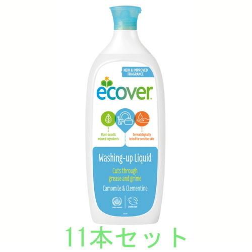 【お買上特典】エコベール 食器用洗剤カモミール 1000ml ×11本セット