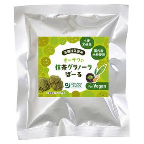 【お買上特典】オーサワの抹茶グラノーラぼーる 40g 【オーサワジャパン】