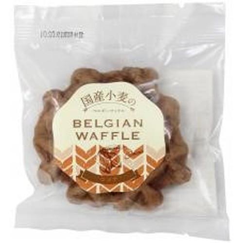 NEW ARRIVAL ひとつひとつ手作りで丁寧に焼き上げたココアとバターの香り豊かなワッフルです お買上特典 国産小麦のベルギーワッフル ムソー ココア×6個 買収 ※キャンセル不可