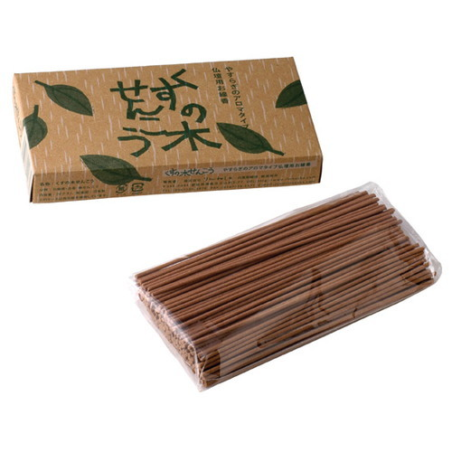 【ゆうパケット対応(3個まで)】くすの木せんこう 70g【りんねしゃ】(3センチ)