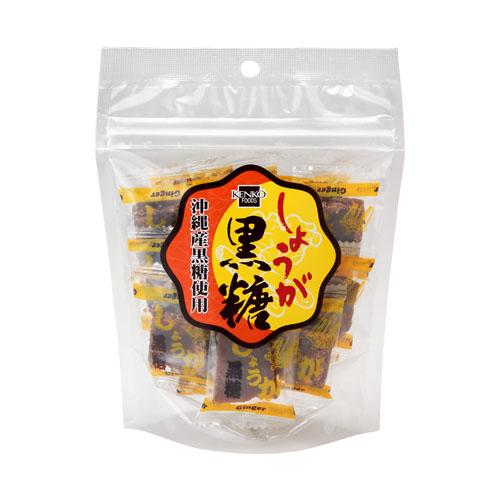 しょうが黒糖 (80g) 【健康フーズ】