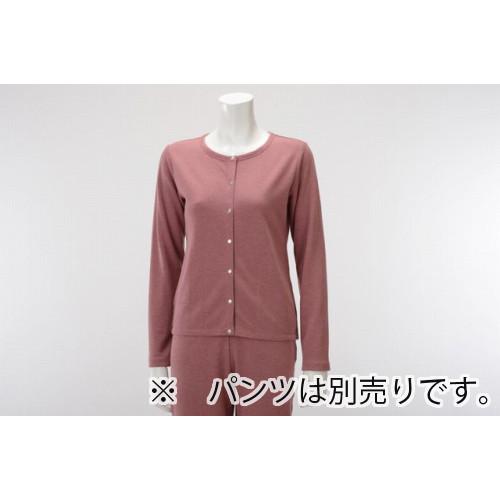 【竹布特典】TAKEFU カーディガン(Lady's) ローズ Lサイズ