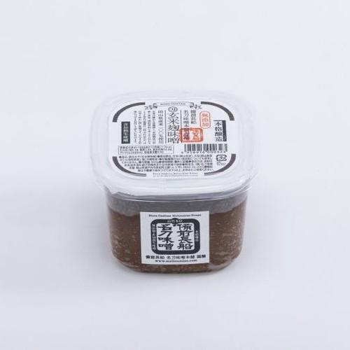 玄米麹味噌 (800g) ×12個セット 【名刀味噌本舗】