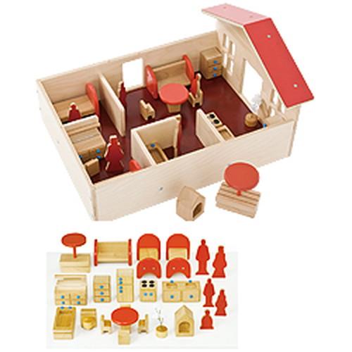 セラピー用プレイハウスセット私の家、あなたの家 (P-31) 【TAGTOYS(タグトイ)】