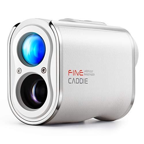 【公式】FineCaddie(ファインキャディ) J300 ゴルフ レーザー距離計 1,093yd 充電式 光学6倍望遠 高低差測定 スロープモードON/OFF P