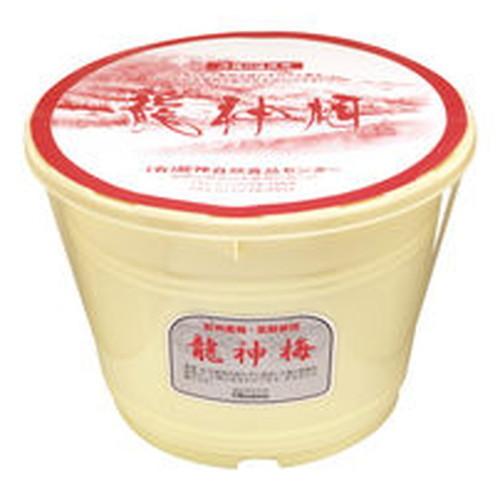 龍神梅(りゅうじんうめ) (4kg樽)  ※メーカー直送(同梱・代引・キャンセル不可)