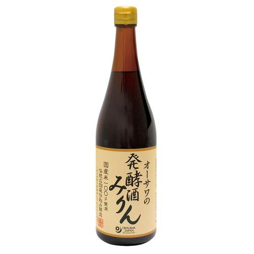 国産米 米麹使用 品質検査済 コクと甘みがあります お買上特典 オーサワの発酵酒みりん アウトレット☆送料無料 オーサワジャパン 720ml