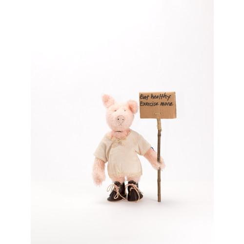 ブタのスザンナ(CL34064)【クレメンス/CLEMENS-SPIEL TIERE】 【6歳頃から】