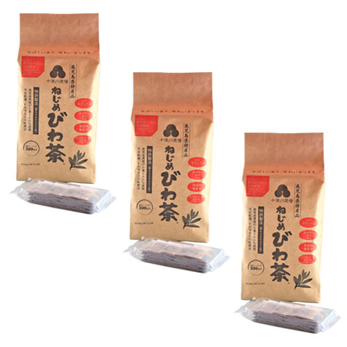 十津川農場 ねじめびわ茶300(2gティーバック 300包入)×3箱セット