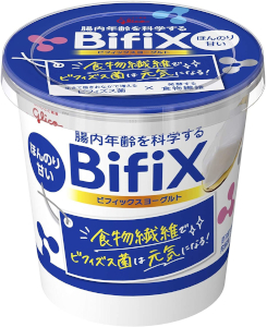 BifiX 世界の人気ブランド ヨーグルト ほんのり甘い グリコ 6個 375g 期間限定の激安セール BifiXヨーグルト