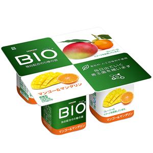 甘く熟したマンゴーにさわやかなマンダリンを組み合わせたヨーグルト ダノンビオ マンゴー 新品■送料無料■ 6パック 価格 マンダリン4P